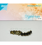 Crystal Eye Beige 10 mm 10stk 6300/0602