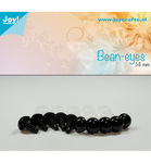 Bear Eye Black 14 mm 10 stk 6300/0615