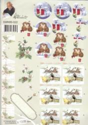 Jule kort SWK80-022