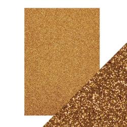 Glitter Paper 5 x A5 Guld 9942E