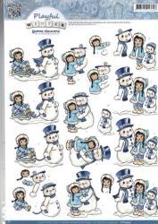Playful Winter CD10433