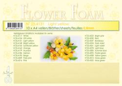 Leane Flower Foam A4 24.4131 Ligth Yellow