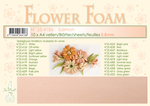 Leane Flower Foam A4 25.4186 Salmon