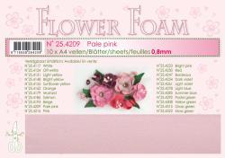 Leane Flower Foam A4 25.4209 Pale Pink