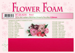 Leane Flower Foam A4 25.4230 Red