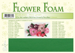 Leane Flower Foam A4 25.4322 Moss Green