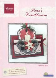 Marianne Design Petra^s Kerstbloemen BR1406