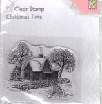 Clear Stamp CT019 Christmas Time