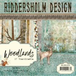 Riddersholm Blok 15,2 x 15,2 30 ark assoteet 3x10 WL281221